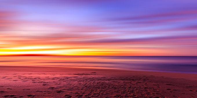 黄昏のイメージ(海辺)